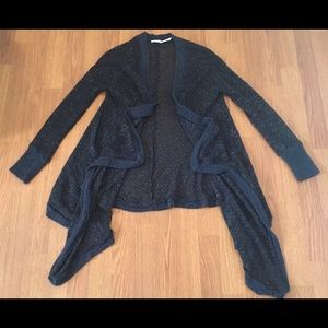 Kimchi Blue Cardigan Sweater Draped Open Front